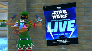 Fortnite live event will premiere Star Wars: The Rise of Skywalker ...