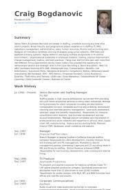senior recruiter resume samples   visualcv resume samples databasesenior recruiter and staffing manager resume samples