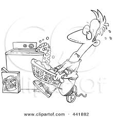 Image result for clipart of something that smells in a washing machine