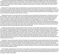 declaration essay  comfuturobrorg you are here essay on the declaration of independencefree essays on analyzing the declaration of independence
