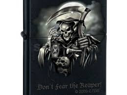 "Zippo ""<b>Don</b>'<b>t</b> Fear the Reaper"" Lighter, Black Matte - 2000 руб ..."