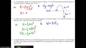 college physics work power energy problem set  college physics work power energy problem set 1 2 5