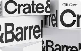 Crate and Barrel eGift Card   GiftCardMall.com