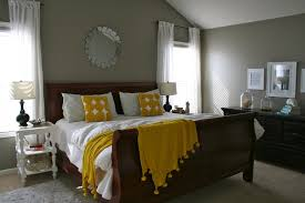 yellow and gray bedroom: artwork and master bedroom yellow and grey bedroom decor bedroom design