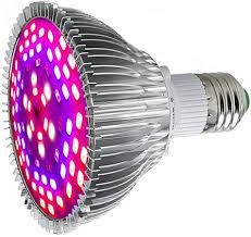 <b>E27</b> 50W <b>LED Grow</b> Light Bulbs 78 <b>LEDs</b> Full Spectrum for Indoor ...