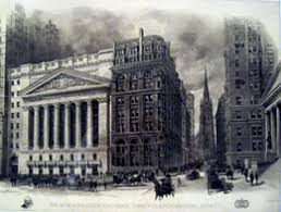 「1817, New York Stock Exchange, NYSE opened」の画像検索結果