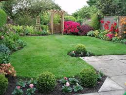 Small Picture Garden Borders Small garden design Gardens and Small gardens