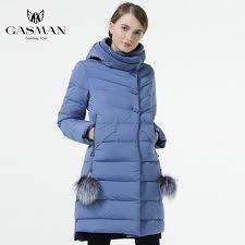 Online Shop GASMAN 2019 New Womens <b>Winter</b> Bio Down Jacket ...