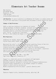 sample resume for elementary teacher resume builder sample resume for elementary teacher sample resume preschool teacher resume exforsys resume samples elementary art teacher