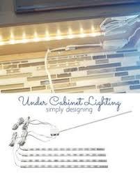 easy under cabinet lighting. diy under cabinet lighting by simply designing easy h