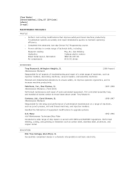 mechanic resume anuvrat info motor mechanic resume examples maintenance mechanic resume sample