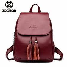 <b>2019 Fashion Women Backpacks</b> Women's Leather Backpacks ...