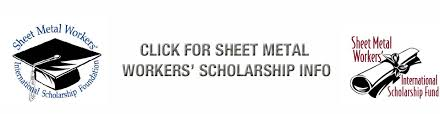 Image result for sheet metal worker scholarship