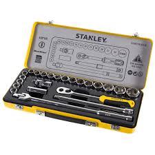 <b>Набор торцевых головок Stanley</b> 1/2 дюйма, 24 предмета в ...