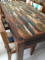 eco recycled boat table recycled boat furniture is manufactured by bt2 8 rustic wood furniture