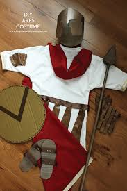 diy ares greek mythology costume inspiration made simple diy ares greek mythology costume