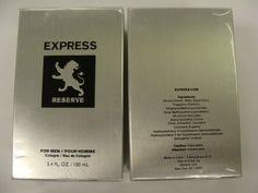 <b>Express Reserve for Men</b> 3.4 oz Cologne New in Box by Express ...
