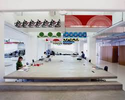workplace design mother advertising agency office design