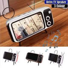 New Retro TV Style Wireless Bluetooth Audio Mobile Phone ... - Vova