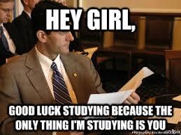 Paul Ryan Study Hard memes | quickmeme via Relatably.com