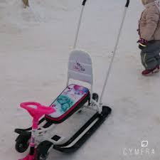 Отзывы о <b>Снегокат</b> детский <b>Nika Тимка спорт</b> 6
