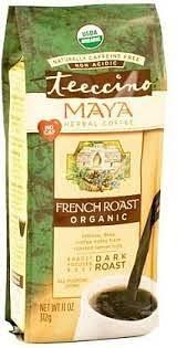 Teeccino <b>Chicory Herbal Coffee Organic</b> All Purpose Grind French ...