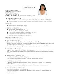 curriculum trabajo tk category curriculum vitae