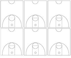 basketball court diagramsbasketball court diagrams    half courts