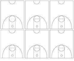 basketball court diagramsbasketball court diagrams    half courts