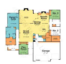 One Story House Plans   Open Floor Plans   Design Basics    One Story Home Plans