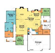 One Story House Plans   Open Floor Plans   Design Basics    One Story Home Plans