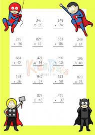3 Digit by 2 Digit Multiplication Worksheet -#1 ...... Multiplication Worksheet – 3 digit by 2 digit - #1. Get It Now
