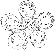 Small Picture Friendship Coloring Pages Friendship Coloring Page Pages For