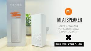 <b>Xiaomi</b> Xiao <b>Ai</b> - <b>Ai</b> Speaker - <b>WiFi</b> Bluetooth Smart Speaker - Full ...
