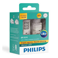 <b>Лампа PHILIPS</b> WY21W 12V LED (W3x16d) Ultinon + <b>CANbus</b> 12V ...