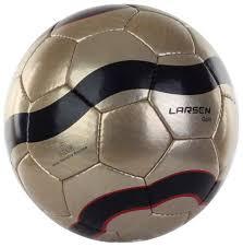 Футбольный <b>мяч Larsen</b> LuxGold <b>№5</b> gold купить, цены в Москве ...