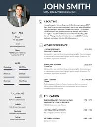 most professional editable resume templates for jobseekers best resume templates
