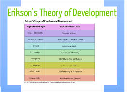 erikson s stages of development developmental standards erikson s 5 stages of development developmental standards project