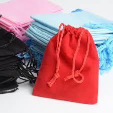 <b>Wholesale 100Pcs Mix Color</b> 5x7cm Velvet Bag/Jewelry Bag ...