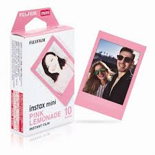 <b>Fujifilm Instax Mini Pink</b> Lemonade Film Photo Paper For Fuji Instant ...