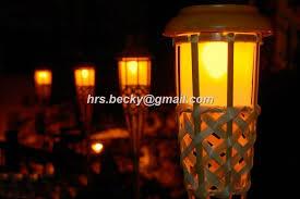 outdoor torch lighting. solar tiki torch light outdoor lighting
