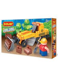 "<b>Конструктор Бауер</b> ""<b>Стройка</b>"" набор с грейдером Bauer. 8310972 ..."
