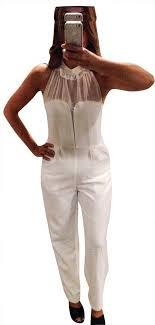 Saint Laurent White <b>Ysl Romper</b>/<b>Jumpsuit</b> - Tradesy