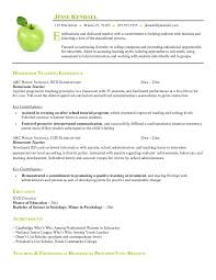 Academic resume template inside Academic Resume Template