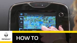 How To Use The Renault MediaNav System - Renault UK - YouTube