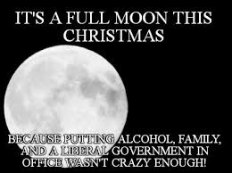 Meme Maker - IT'S A FULL MOON THIS CHRISTMAS Because putting ... via Relatably.com
