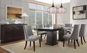 Contemporary Formal Dining Room Sets Contemporary Formal Dining Room Sets With Dark Dining Table And