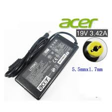 laptop charger FOR ACER <b>19v 3.42a 65w</b> for E5-411 E5-521 ...