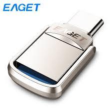 <b>EAGET CU20</b> OTG <b>USB</b> Flash Drive 16GB 32GB 64GB <b>USB</b> 3.0 ...