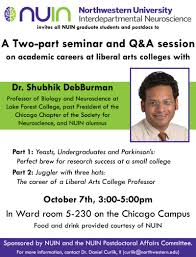archived nuin events nuin academic careers at liberal arts colleges dr shubhik deburman 7 3 00 5 00pm ward 5 230 chicago campus